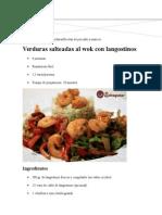 Recetas de Ensaladas y VerdurasRecetas de Pescado y Marisco