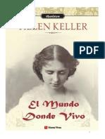 El Mundo Donde Vivo - Helen Keller