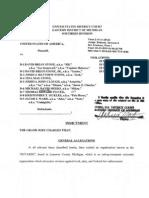 indictment nine members of a militia group