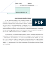 Introduccion a La Literatura - Ms 3