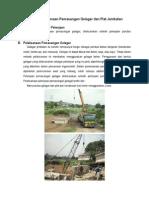 Metode Pelaksanaan Pemasangan Gelagar Dan Plat Jembatan