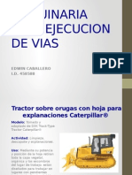 Fichas Técnicas de maquinaria para Obras viales