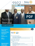 Bulletin Du District Novembre 2015