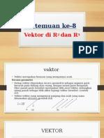 vektor di R2 dan R3