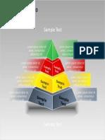 3D Blocks Pyramid