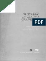 Glossário de Rochas Graníticas, 1987