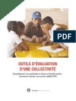 605c_fr Outils d'Evaluation d'Une Collectivite