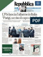 LaRepubblica 19.11.2015