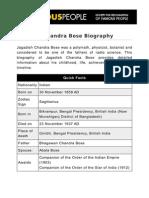 Jagadish Chandra Bose 5287