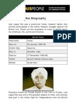 Lala Lajpat Rai 5307