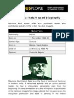 Maulana Abul Kalam Azad 5282