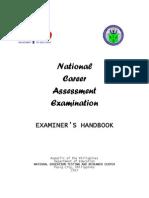2013 NCAE Examiners Handbook