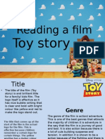 Toy Story Coursework 2
