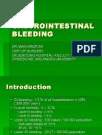 Gastrointestinal Bleeding Iwk