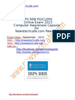 IBPS RRB PO Clerk Computer Capsule by Newstechcafe