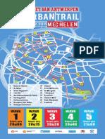 Parcours GvA Urban Trail Mechelen