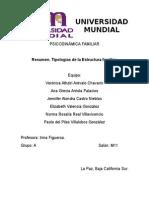 Tipologías de Estructura Familiar