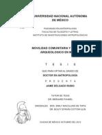 Teisis Movilidad Comunitaria y patrimonio arqueológico en México