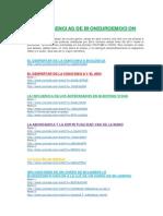 Conferencias BioNeuroEmocion - Enlaces Ordenados