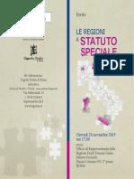 Invito_le Regioni a Statuto Speciale Oggi