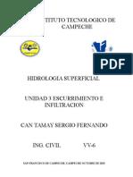 Hidrologia Unidad 3