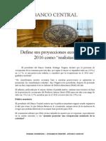 Proyección Macroeconómica