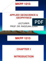 Petroleum Geoscience and Geophysics Chapter 1