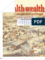 Health Wealth In Truth Or Consequences NM NEW MEXICO MAGAZINE Vol. 83, No. 2 February 2005