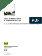 Sri Lanka Tourist Board Annual Statistical Report 2006