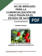 1 CHILE PIQUIN Estudio de Mercado