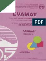 Manual Evamat Vol 1