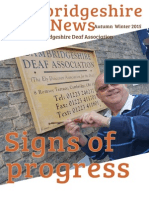 Cambridgeshire Deaf News Autumn Winter 2015