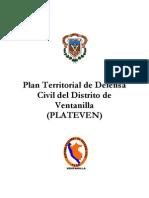 Plan Territorial de Defensa Civil del Distrito de Ventanilla (PLATEVEN) SISTEMA NACIONAL DE DEFENSA CIVIL VENTANILLA