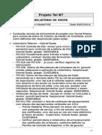 Relatorio de Visita Tel-NT 03jul2014