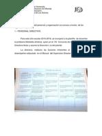 4.- Diagnostico Del Personal y Organizaciòn