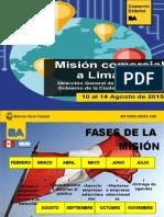Presentación | reunión Misión comercial Perú