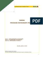 Manual Restaurante Popular