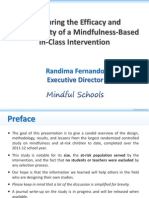 Mindful Schools Study Highlights