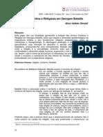 Experiência Erótica e Religiosa em Georges Bataille