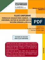 FLUJO UNIFORME
