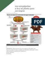 Curtiembres Arequipeñas Inauguran Hoy Su Planta Para Tratar Aguas Negras