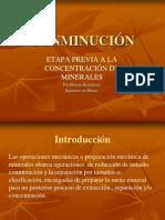 Conminucion Chancado