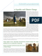 Women and Climate Change Factsheet