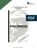 Leseprobe Stalingrad