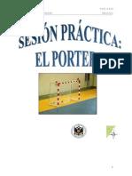 Sesion práctica sobre el Portero en Balonmano