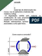 CAUSAS DE DETERIORAÇÃO DE EQUIPAMENTOS