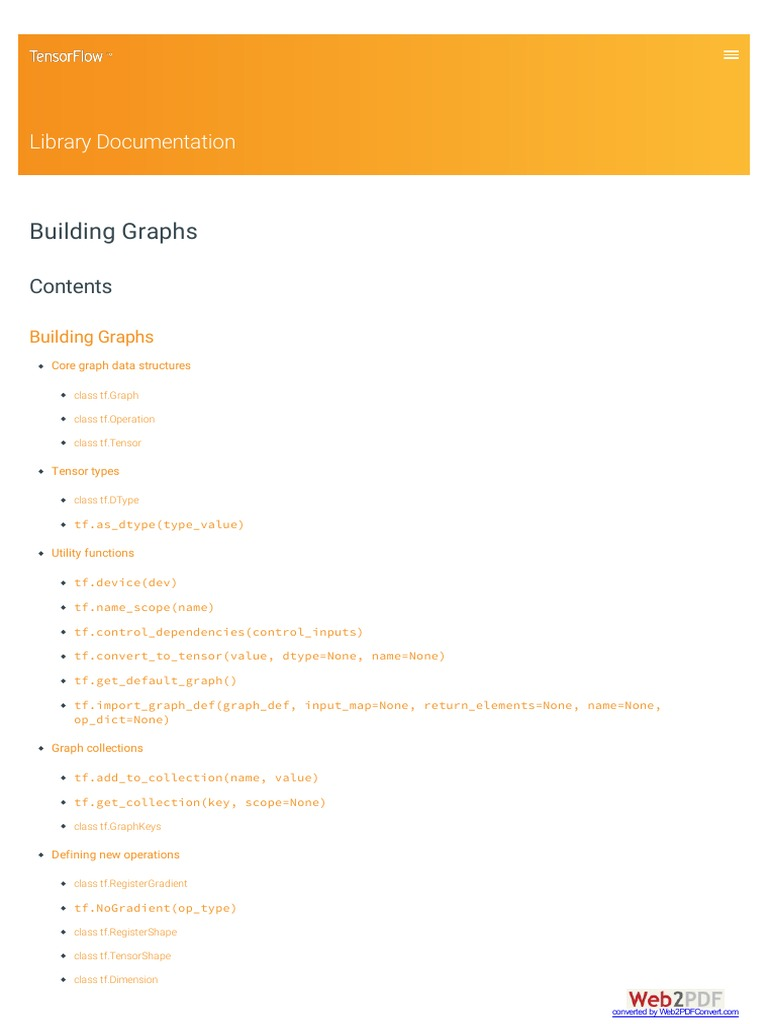 Www Tensorflow Org Building graphs | Scope (Computer Science