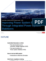 Improving PSS Through Integrated Power System Stabilizers