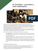 Manutenção Corretiva _ Conceitos e Suas Implicações