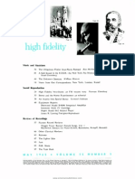 High Fidelity 1965 May
